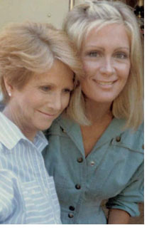 Julie Harris and Joan van Ark