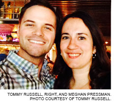 Tommy Russell and Meghan Pressman