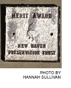 Merit Award from the New Haven Preservation Trust (NHPT)