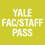 2018-19 Yale Faculty & Staff 6-Ticket Pass