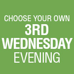 3-Play Subscription: 3rd Wednesday Evening